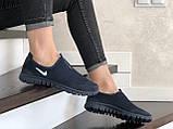 Женские кроссовки летние Nike Free Run 3.0,темно синие, фото 3