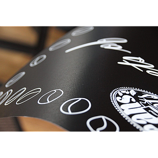 Меловая пленка черная Le Vanille PRO 1.37 м ширина пр-во Германия
