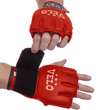 Перчатки для MMA кожаные Velo (S-XL) PZ-ULI-4024, фото 2