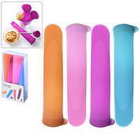 Форма для мороженного N02067 силиконовая, разные цвета, кондитерский инвентарь, кондитерский инструмент, посуда, для Выпечки и кондитерки