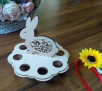 Подставка для яиц с кроликом