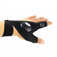 Перчатки с подсветкой Atomic Beam Glove (hand-free light), фото 1