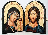 Складень апостол Лука (тройной квадратный), фото 1