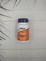 NOW Foods  L-Tyrosine 500mg 60 caps, тирозин Нау фудс