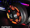 Наушники для геймеров с микрофоном, наушники для компьютера Fantech Captain 7.1 HG10, фото 3