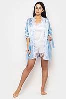 Женская одежда для дома, атласный халат с кружевом,домашняя одежда