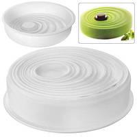 """Форма силикон """"Vagea"""" N02048 цельная форма, 20*5см, товары для кухни из силикона, формы для выпечки, посуда, силиконовая форма"""