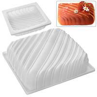 """Форма силикон """"Pone"""" N02052 белый, 20*4см, цельная форма, товары для кухни из силикона, формы для выпечки, посуда, силиконовая форма"""