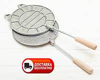 Форма для выпечки вафель на плите (круглая)