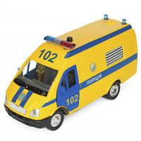 Спецтехника Технопарк Газель Полиция желтая (CT-1276-17PU)