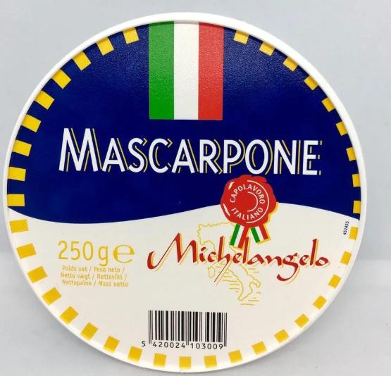 Маскарпоне Michelangelo mascarpone 250г
