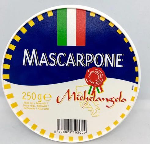 Маскарпоне Michelangelo mascarpone 250г, фото 2
