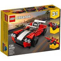 Конструктор LEGO Creator Спортивный автомобиль 134 детали (31100)