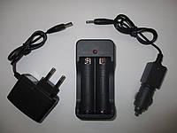 Сетевое зарядное устройство BL 18650 комплект, Li-Ion 3400мАч, пластик, 3,7В, черный, зарядка, зарядный,