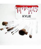 Профессиональный набор кистей для макияжа Kylie Jenner 12 шт.