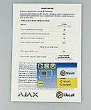 Комплект беспроводной сигнализации Ajax Starterkit (white,black), фото 10