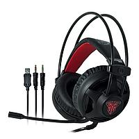 Наушники для геймеров с микрофоном, наушники для компьютера Fantech Chief HG13