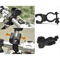 Кріплення для ліхтарика на кермо KK-03, кріплення для ліхтаря, кріплення на велосипед