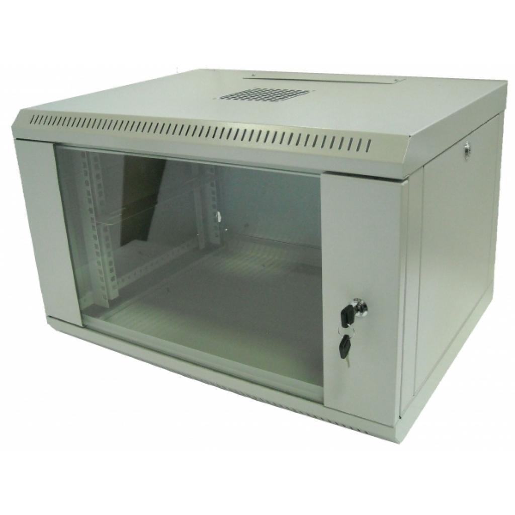 """Шкаф настенный Hypernet 9U 19"""" 600x600 (WMNC66-9U-FLAT)"""