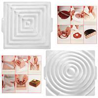 """Форма силикон """"Insert Decor"""" N02066 двухсторонняя, 26*2см, товары для кухни из силикона, формы для выпечки, посуда, силиконовая форма"""