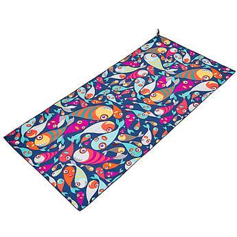 Полотенце для пляжа SPORTS TOWEL (полиэстер, р-р 80х160см, цвета в ассортименте)