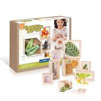 Игровой набор Guidecraft Набор блоков Natural Play Сокровища в ящиках прозрачный (G3084)