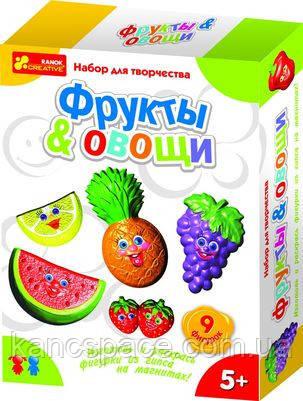 """Ранок Кр. 4004 Гипс на магн. """"Овощи, фрукты"""""""