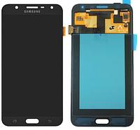 Дисплейний модуль для телефону Samsung J701F/DS Galaxy J7 Neo в зборі з тачскріном, чорний, Original