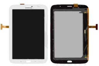 Дисплей для планшетів Samsung N5100, N5110 Galaxy Note 8.0 , (версія 3G), білий, із сенсорним екраном