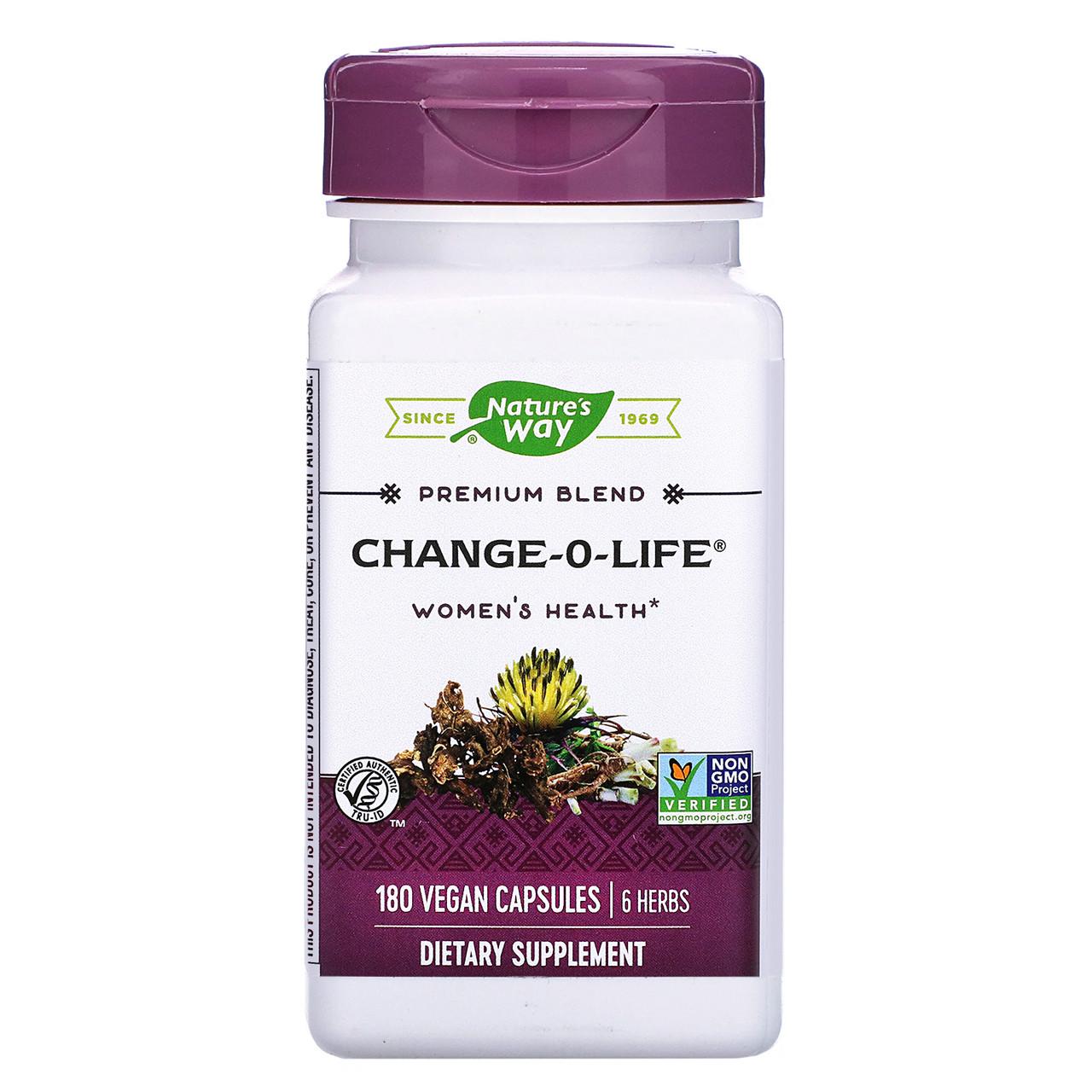 """Травяной комплекс для женского здоровья Nature's Way """"Change-O-Life Women's Health"""" 1320 мг (180 капсул)"""