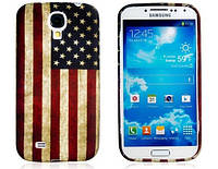 "Чехол для телефона Samsung Galaxy i9500 S4 ""ФЛАГ США"""