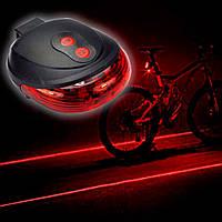 Ліхтарик велосипедний BL 118 BIKE, світлодіодів 5, лазерів 2, ліхтар для велосипеда, фара велосипедна