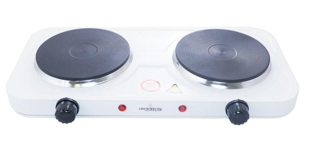 Плита электрическая двухконфорочная Crownberg - CB-3746 (дисковая)