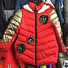 Детская утепленная куртка оптом на девочку  5-7 лет