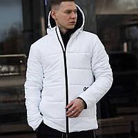 Куртка весенняя мужская Пушка Огонь Borra белая