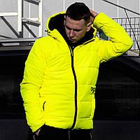 Куртка весенняя мужская Пушка Огонь Borra Желтая