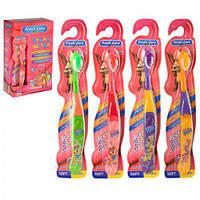 """Зубна щітка """"Fresh care"""" MH-1046 м'які, дитячі, 12 штук, зубні щітки, догляд за порожниною рота, щітки"""