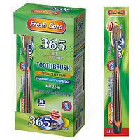 """Зубна щітка """"Fresh care"""" MH-2246 різні кольори, пластик, 12 штук, зубні щітки, догляд за порожниною рота, щітки"""