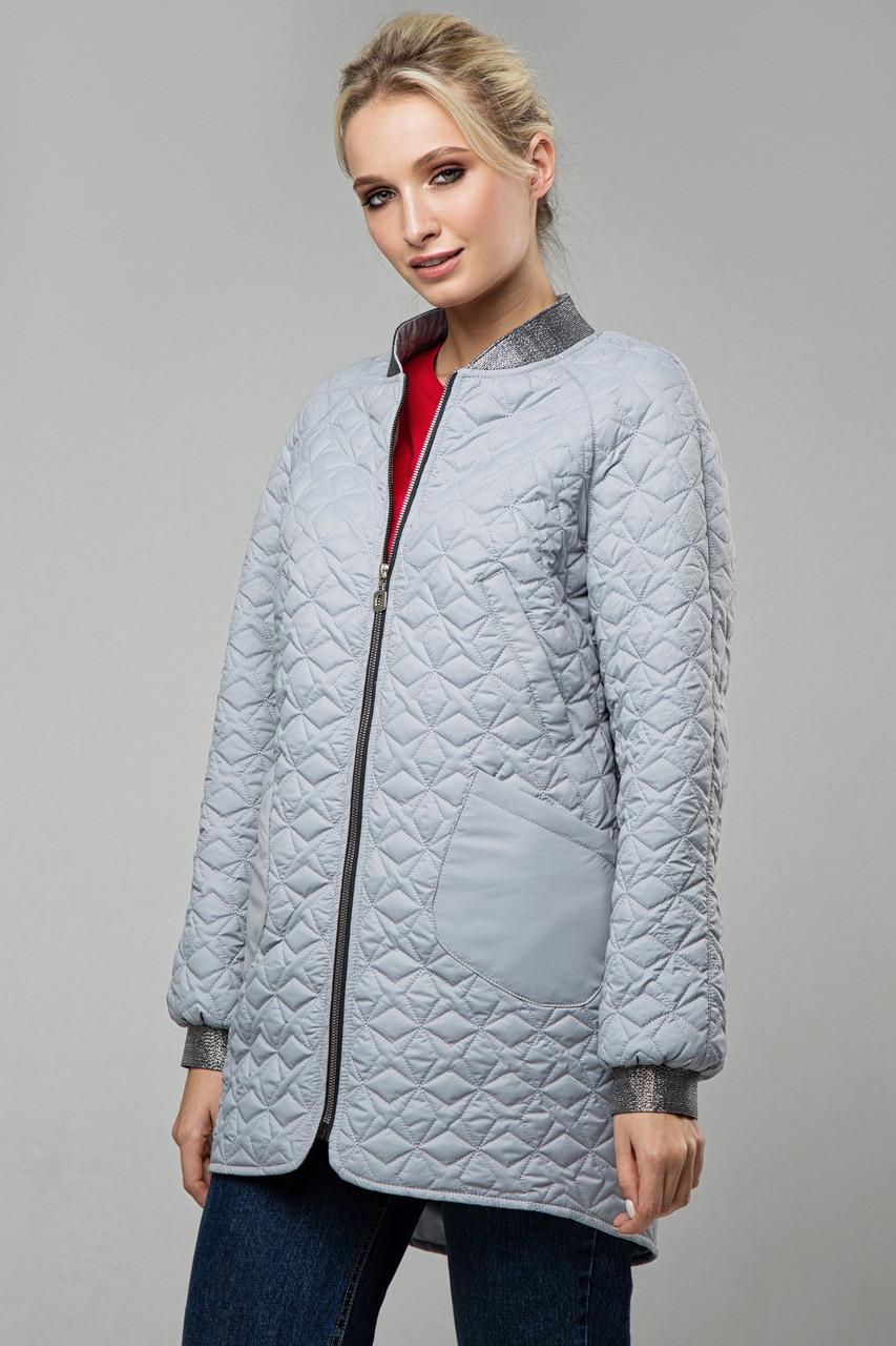 Куртка Miledi В 121 стальной 46