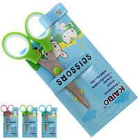 Ножиці дитячі R83924 метал / пластик, різні кольори, ножиці, канцтовари, дитячі ножиці, канцелярські ножиці