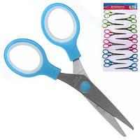 """Ножиці дитячі """"Kaibo"""" R83941 в упаковці 12шт, метал / пластик, різні кольори, ножиці, канцтовари, дитячі ножиці, канцелярські ножиці"""