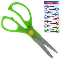 """Ножиці дитячі """"Kaibo"""" R83942 в упаковці 12шт, метал / пластик, різні кольори, ножиці, канцтовари, дитячі ножиці, канцелярські ножиці"""