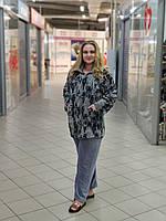 Махровая пижама женская