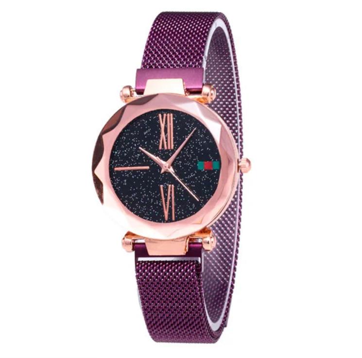 Женские наручные часы с магнитным ремешком Starry Sky Watch
