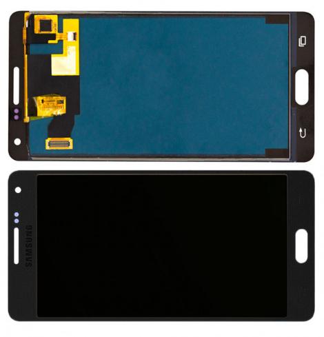 Дисплейний модуль A500 Samsung Galaxy A5, TFT Copy, чорний, з регулюванням яскравості