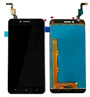 Дисплейный модуль для телефона Lenovo K5 A6020a40 Vibe # L5062H3G-FPC в сборе с тачскрином черный