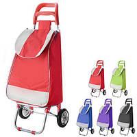 Тачка з сумкою Stenson MH-1897 різні кольори, 35 * 90 * 20см, текстиль / метал, побутові товари візки, візки ручні, візки вантажні, платформні