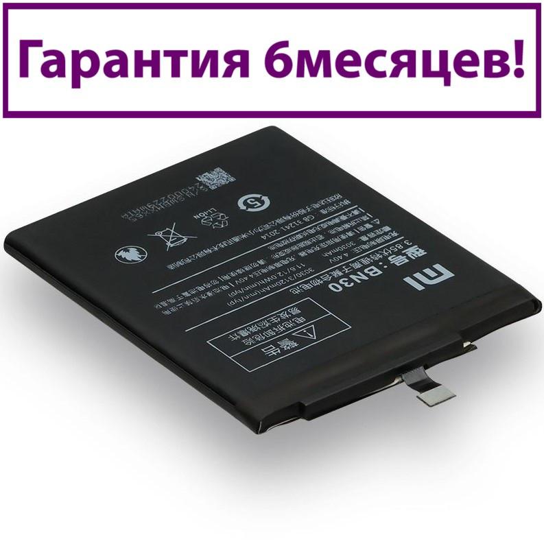 Акумулятор для Xiaomi Redmi 4A BN30 (AAA) 3030мА/год (акумулятор, батарея)