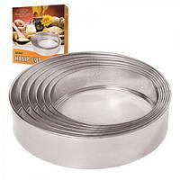 Сито MH-0001 набір 6 штук, метал, 15,5 - 27,5 см, кухонне приладдя, кухонні аксесуари, посуд кухонний та аксесуари