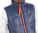Теплая  синяя стеганная  жилетка   жилет  Томми  Хилфигер   Tommy Hilfiger Sport  (Размер L) Оригинал США, фото 2